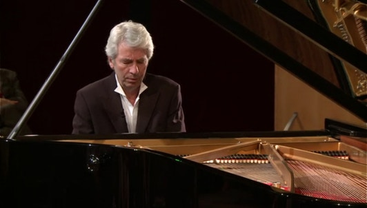 Jean-Philippe Collard in a program around Liszt's B Minor Sonata