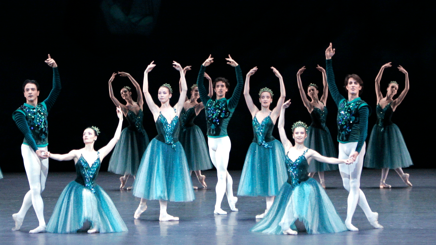 Balanchine's Jewels, music by Fauré, Stravinsky, and Tchaikovsky