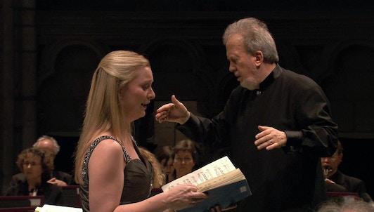John Nelson dirige la Pasión según San Mateo de Bach