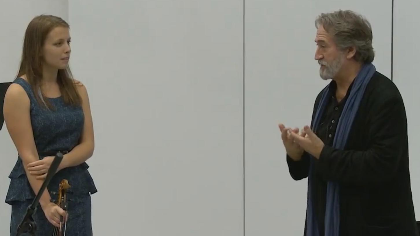 Master Class with Jordi Savall (V/VI)