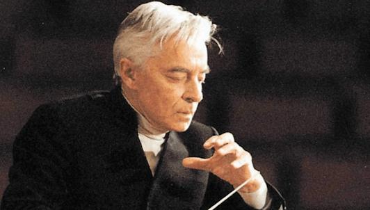 Herbert von Karajan dirige la Symphonie n°4 de Beethoven