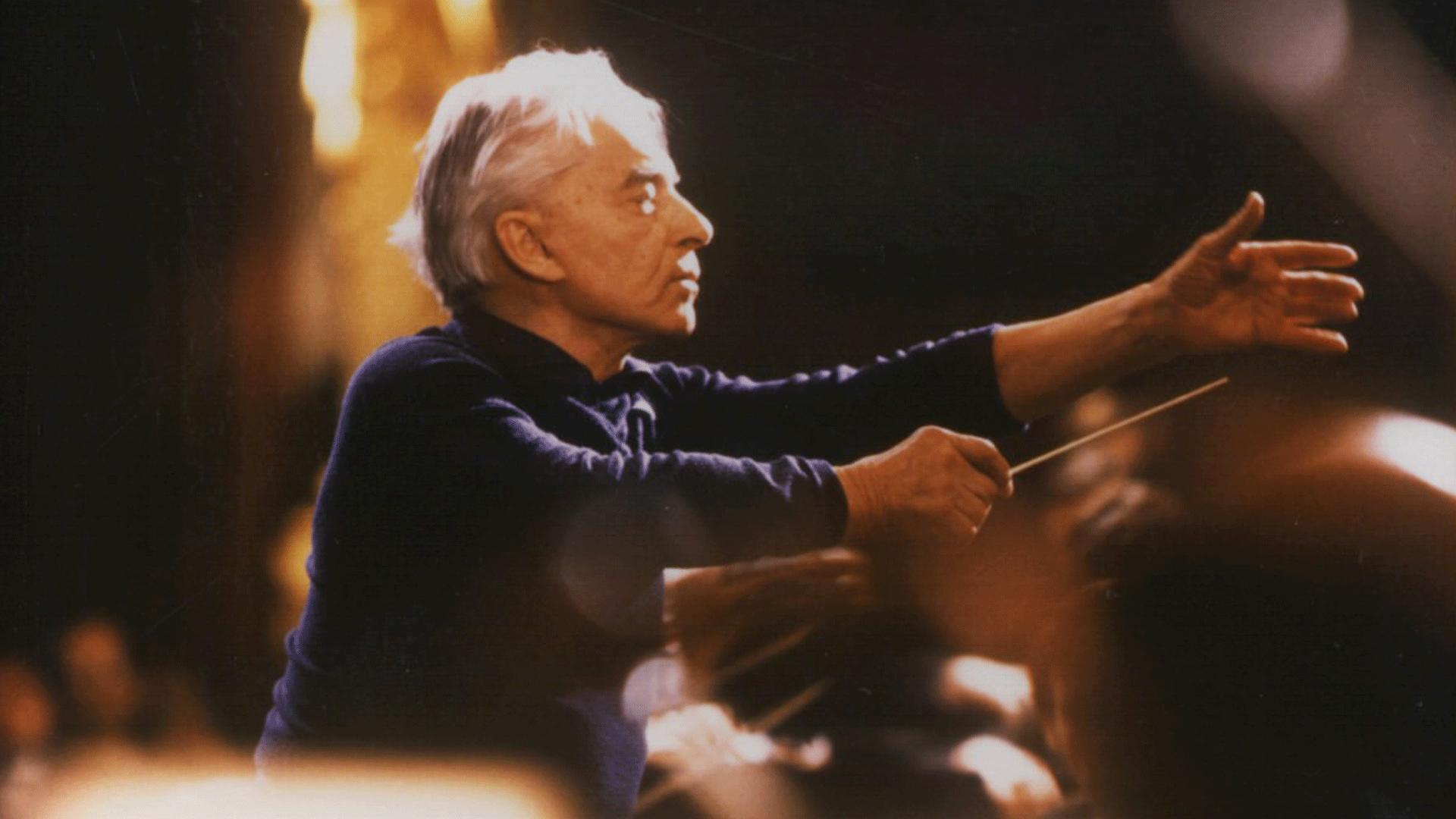 Herbert von Karajan dirige la Symphonie n°6 de Beethoven, dite « Pastorale »