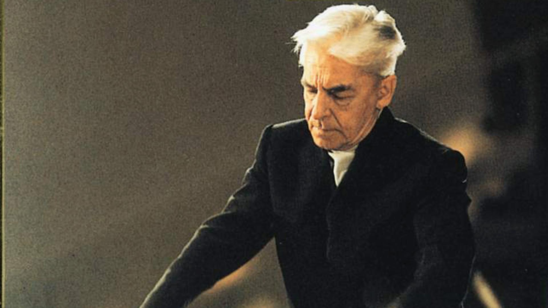 Herbert von Karajan dirige la Symphonie n°8 de Beethoven
