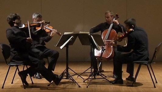 The Kreutzer Quartet performs Beethoven's Great Fugue in B-flat Major, Op. 133