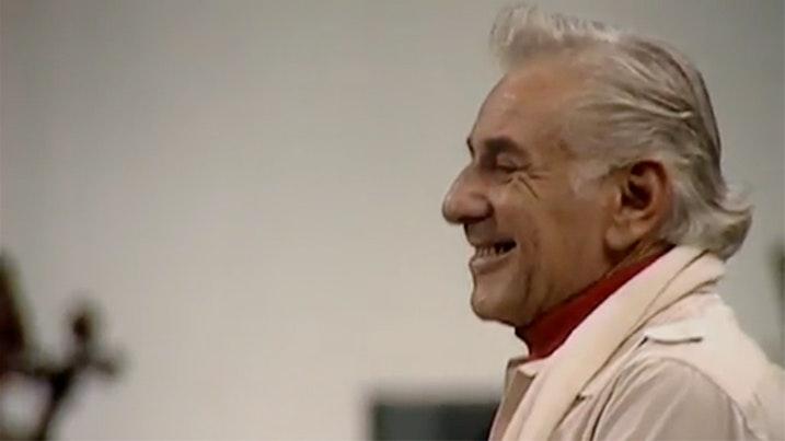 Leonard Bernstein in rehearsal: Elgar Enigma Variations