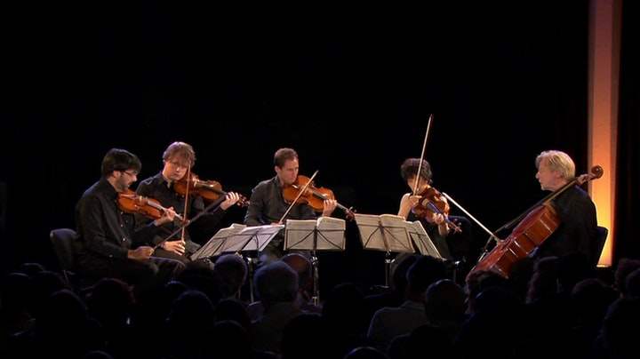 Leonidas Kavakos, Nicholas Angelich, Antoine Tamestit, Natalia Gutman and the Quatuor Ebene perform Mozart, Franck and Schonberg