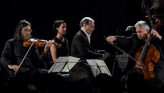 Leonidas Kavakos, Clemens Hagen et Marc-André Hamelin jouent Beethoven et Mendelssohn