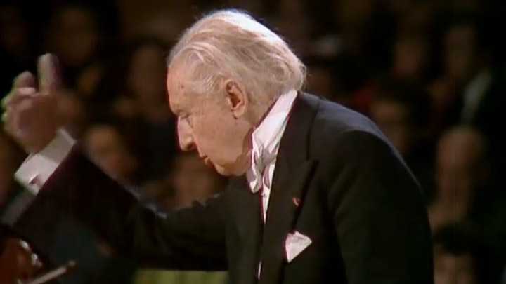 "Leopold Stokowski conducts Schubert's ""Unfinished"" Symphony, Wagner and Debussy"