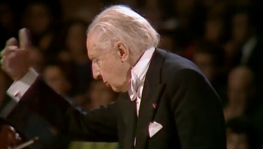 Leopold Stokowski dirige la « Symphonie inachevée » de Schubert, Wagner et Debussy