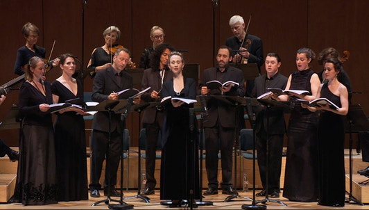 Les Arts Florissants perform Monteverdi: Madrigals, Book V