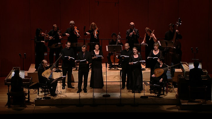 Les Arts Florissants perform Monteverdi: Madrigals, Book VIII - 2nd part: Amorosi