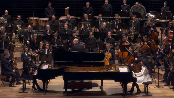 Double Concerto For Two Pianos Philip Glass