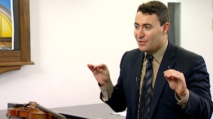Maxim Vengerov teaches Bach: Adagio and Fugue from Sonata No. 1 for Solo Violin