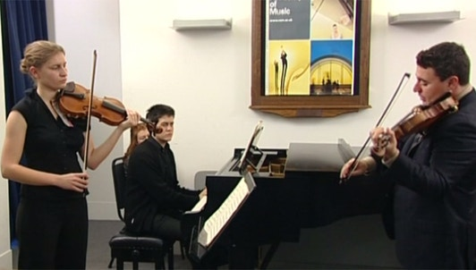 Maxim Vengerov enseigne Mendelssohn : Concerto pour violon (II/II)