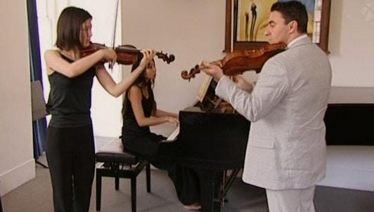Maxim Vengerov teaches Mendelssohn: Violin Concerto (I/II)