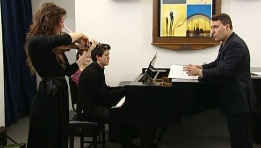 Maxim Vengerov enseigne Sibelius : Concerto pour violon