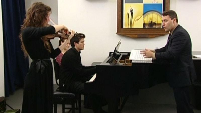 Maxim Vengerov teaches Sibelius: Violin Concerto - Royal