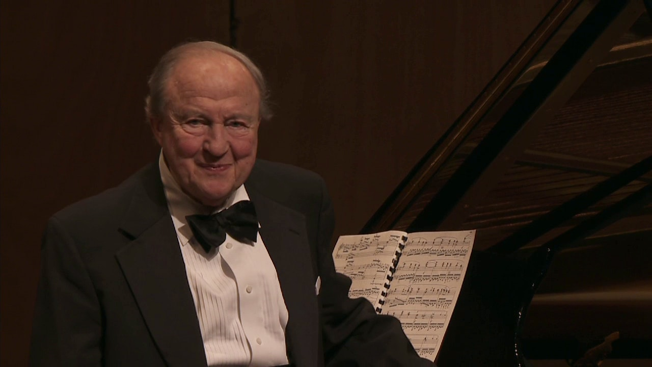 Menahem Pressler performs Beethoven, Chopin, Debussy and Schubert
