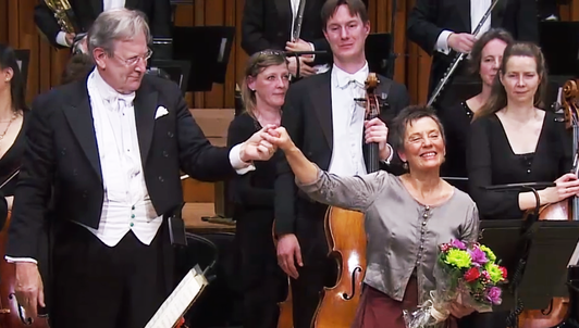 Maria João Pires and Sir John Eliot Gardiner perform Schumann's Piano Concerto