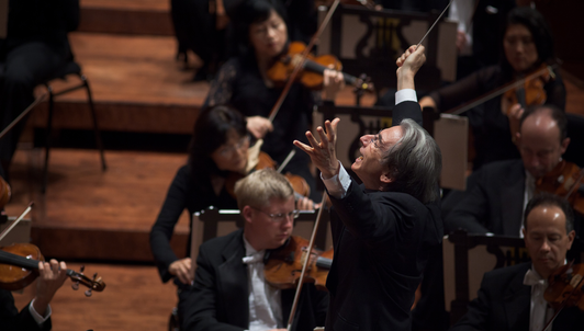 Michael Tilson Thomas conducts his own works