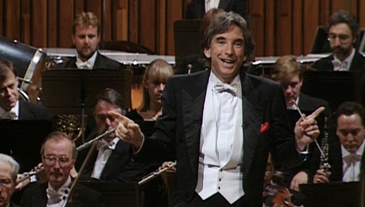 Michael Tilson Thomas rehearses and conducts Strauss's Ein Heldenleben