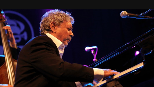 Monty Alexander and his band at the Baloise Session
