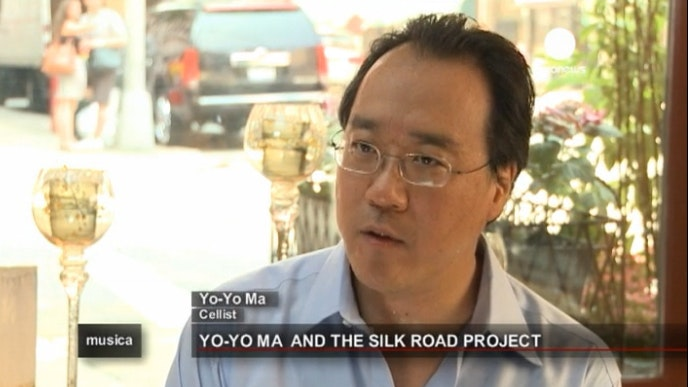 Weaving east with west in Silk Road Project