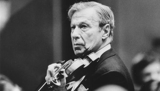 Nathan Milstein interprète la Chaconne pour violon seul de Bach