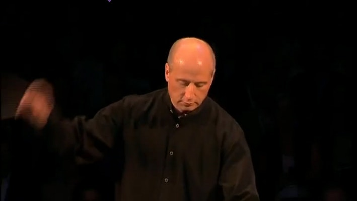 Paavo Järvi conducts the UBS Verbier Festival Orchestra in Brahms' 1st quartet arranged for orchestra