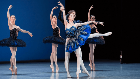 Le Palais de Cristal by Balanchine, music by Bizet