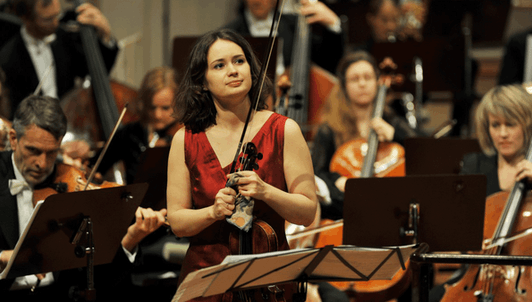 Patricia Kopatchinskaja joue le Concerto pour violon de Tchaïkovski