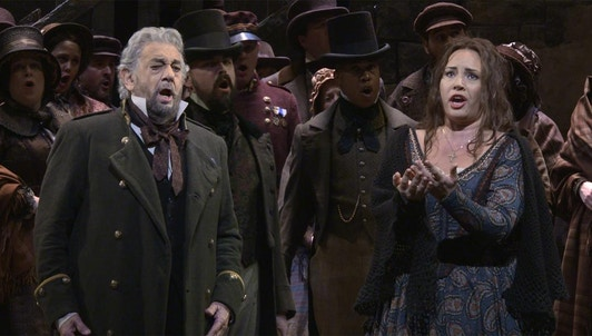 Plácido Domingo et Sonya Yoncheva font briller Verdi au MET