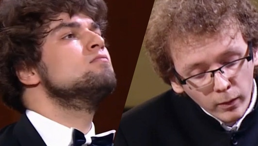 Lukas Geniušas and Sergey Redkin play Prokofiev and Scarlatti