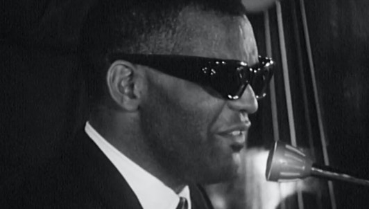 Ray Charles en direct au Festival de jazz d'Antibes