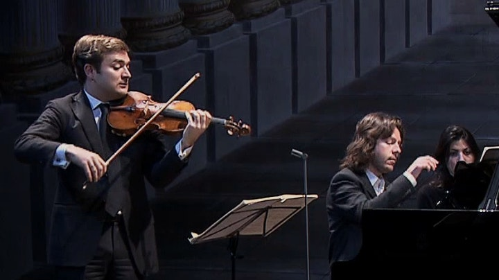 Renaud Capuçon and Franck Braley perform Beethoven's Sonatas No. 8 to 10