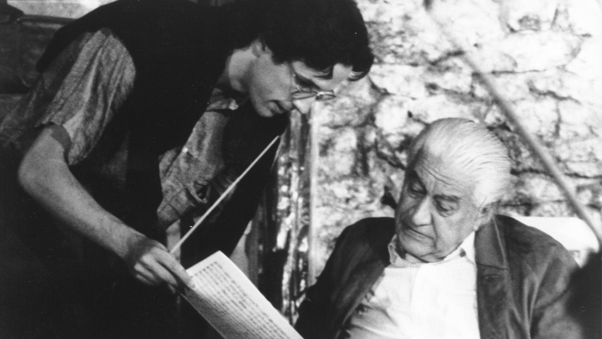 Sergiu Celibidache, portrait du chef d'orchestre