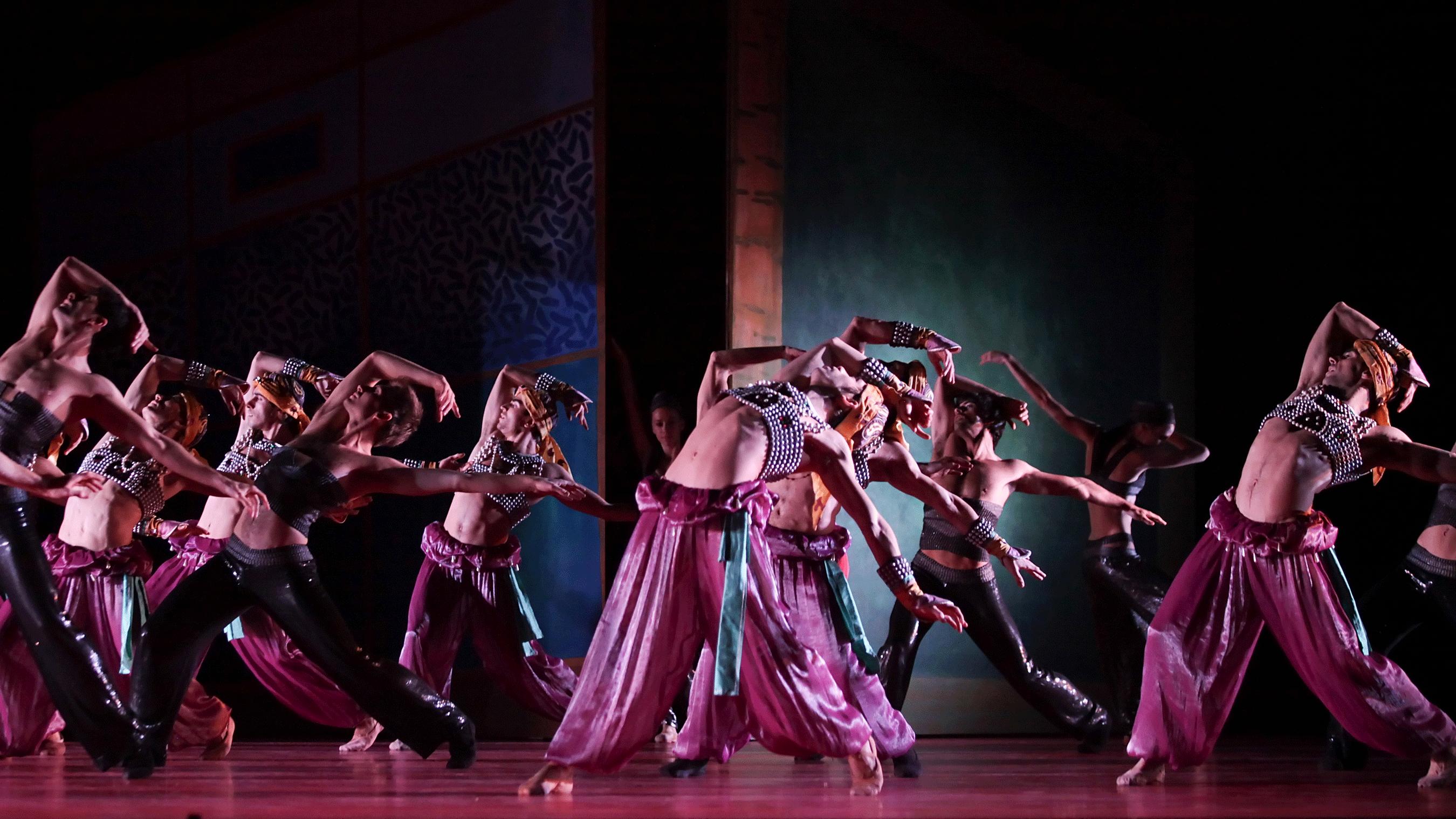 Shéhérazade de Jean-Christophe Maillot, musique de Rimski-Korsakov