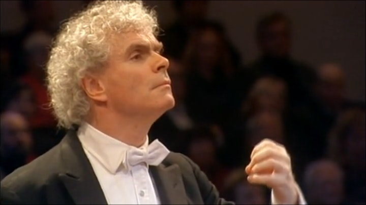 Simon Rattle conducts Carmina Burana