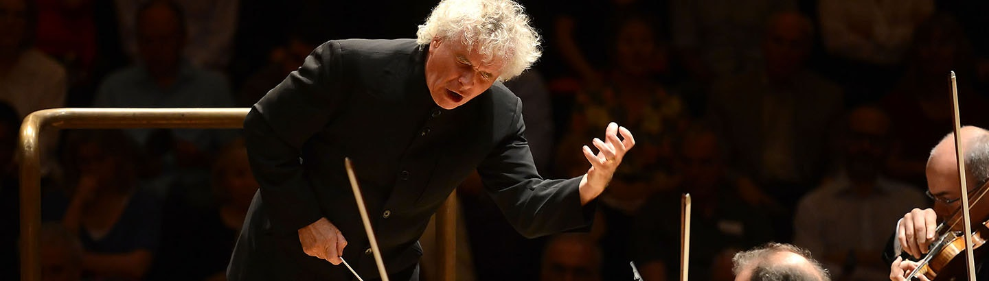 Sir Simon Rattle conducts Turnage and Mahler