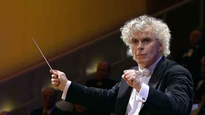 Sir Simon Rattle conducts Rimsky-Korsakov, Borodin and Mussorgsky