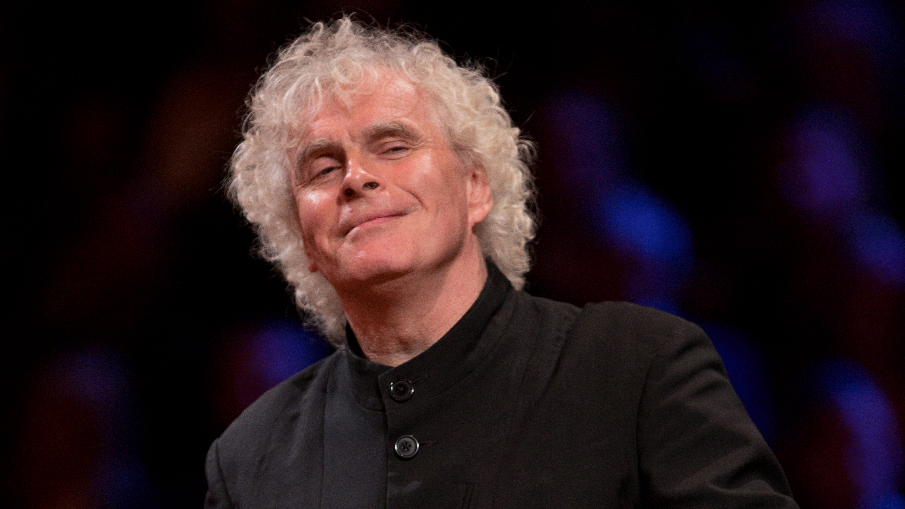 Sir Simon Rattle conducts Dvořák, Hindemith, Khachaturian, and Brahms