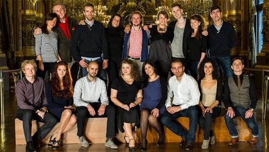 Los solistas de el Atelier Lyrique de la Opera nacional de Paris