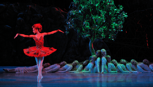 Michel Fokine's The Firebird & Vaslav Nijinski's The Rite of Spring, music by Stravinsky
