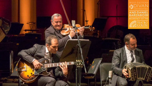 A Tango Evening at the Teatro Colón – With Daniel and Michael Barenboim