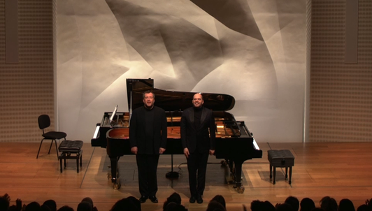 Thomas Adès et Kirill Gerstein jouent Debussy, Stravinsky, Lutosławski, Adès et Ravel