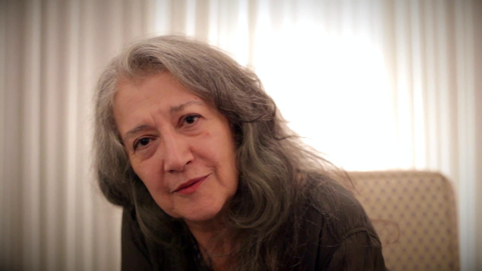 Martha Argerich: Interview