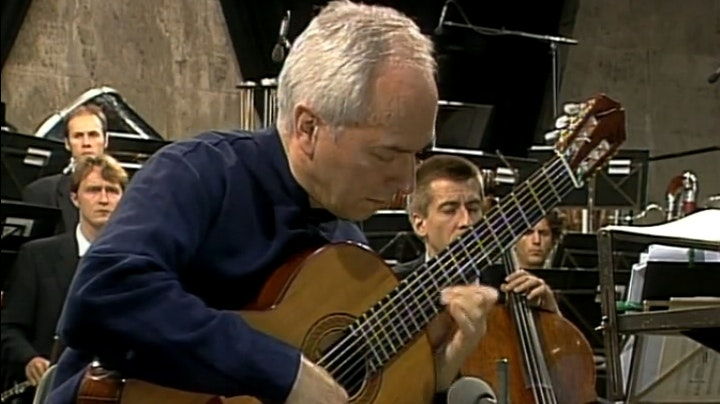 Daniel Barenboim and John Williams perform Latin American classics