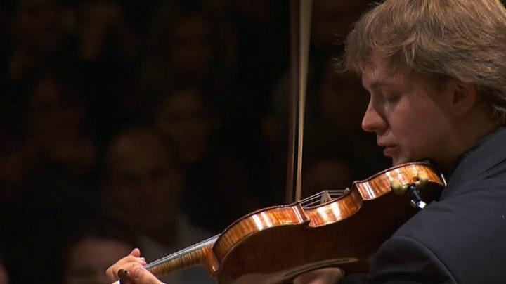 Valeriy Sokolov enregistre le Concerto pour violon de Tchaïkovski