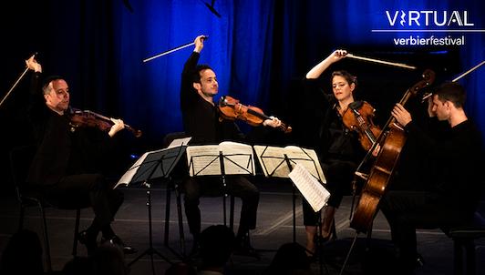 Une journée avec sir András Schiff et Quatuor Ébène II : Verbier Festival, les indispensables