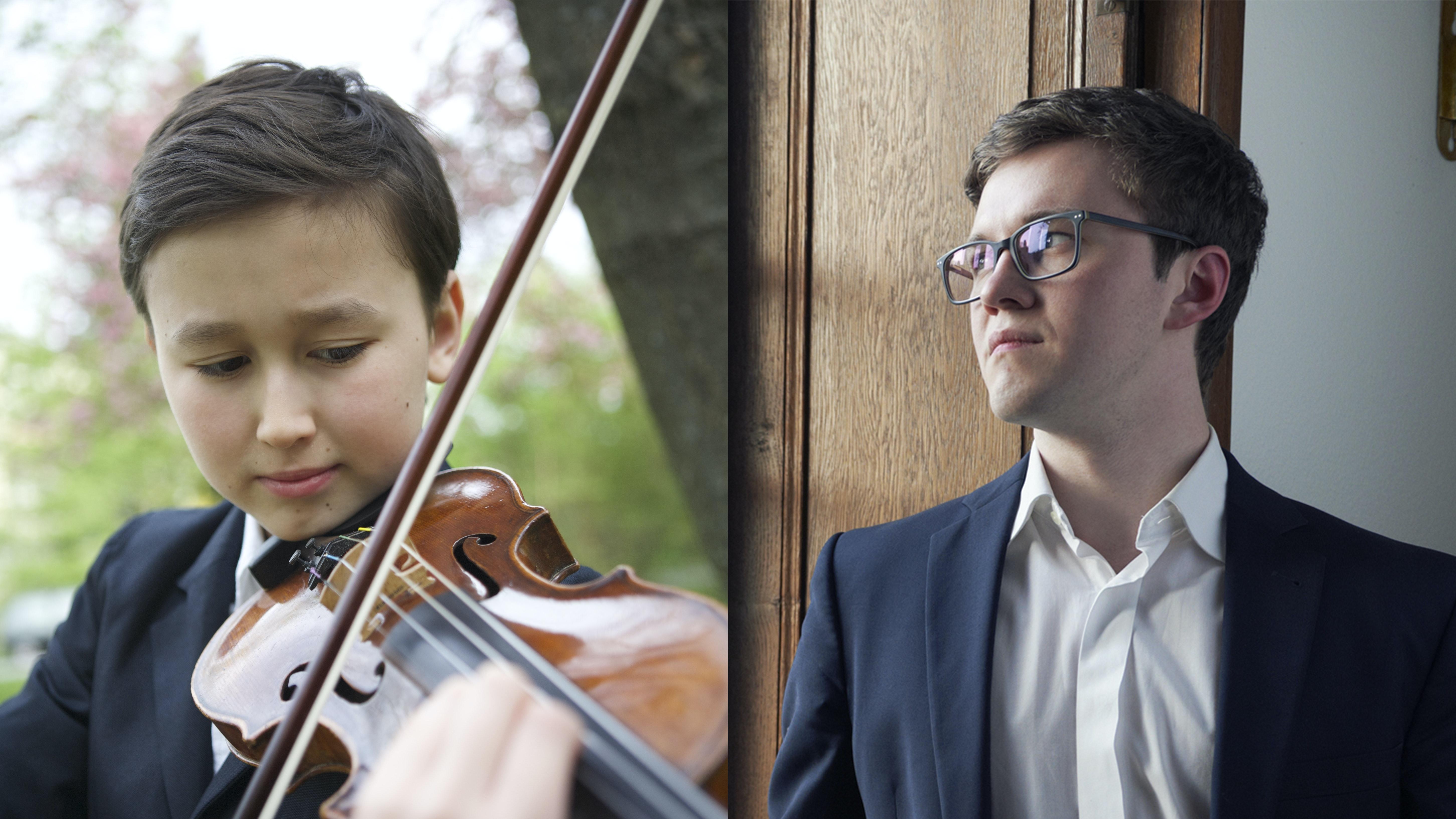 Daniel Lozakovich and Frank Dupree perform Bach, Mozart and Brahms